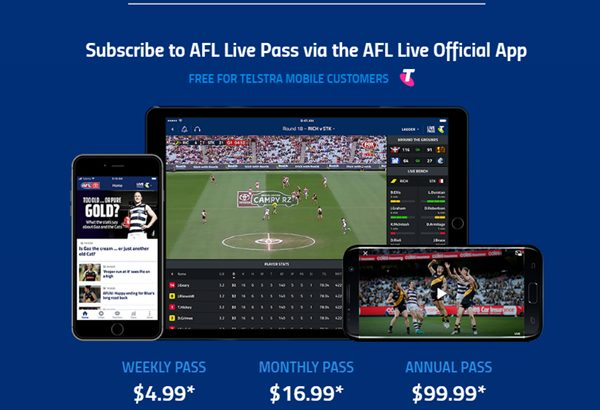 Live stream AFL Premiership Season 2020