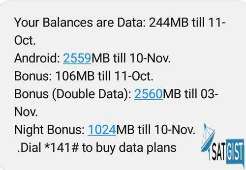 Airtel Triple Data Plan Offer Balance, Airtel Data Plan