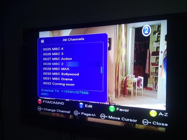 MBC Package Review, Frequency, Dish Size And Package