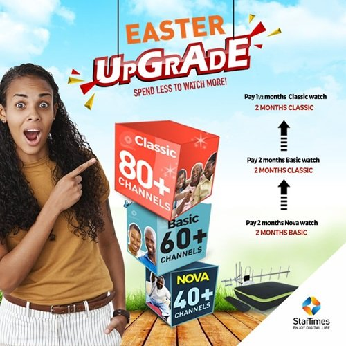StarTime EasterUpgrade And EasterPromo