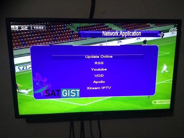 Tigerstar T245+ Lazer Receiver IPTV Menu