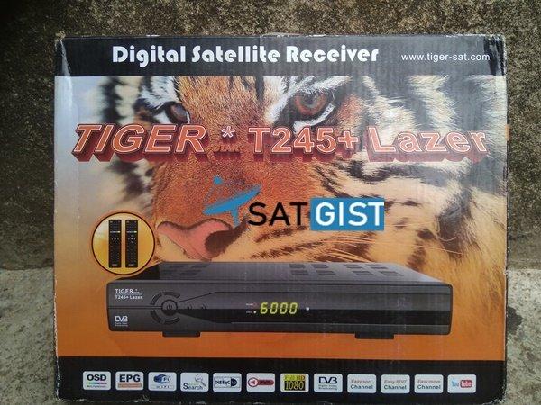 Tigerstar T245+ Lazer Autorole PowerVu Receiver