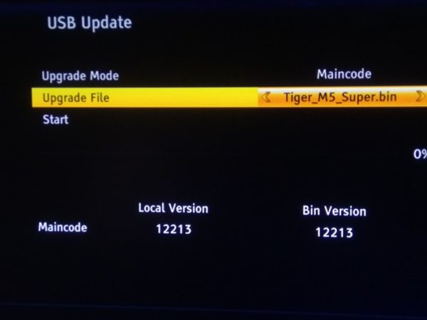 How To Upgrade Tigerstar M5 Super Decoder