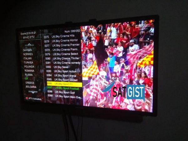 MYHD IPTV ON RANGE T20 RECEIVER