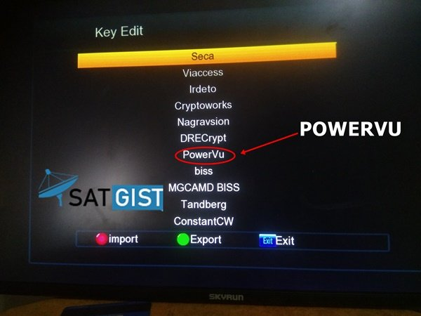 What is POWERVU: Patch Code, Software, Key, Autorole Decoder