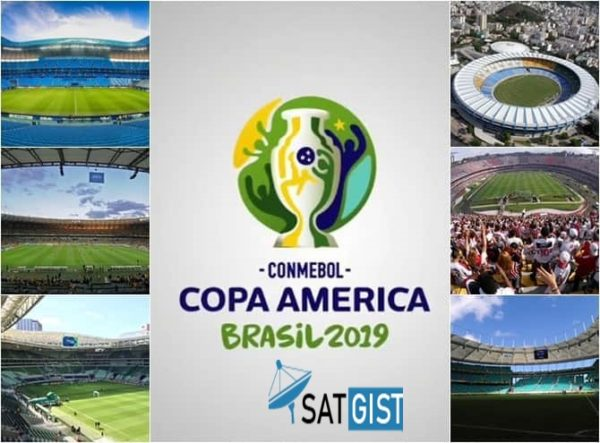 2019 Copa America Venues