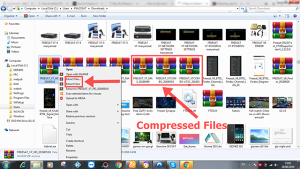 How To Extract Or Compressed File On PC Or Computer