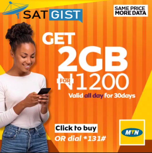 MTN Nigeria Data Plans Price & Subscription Codes In 2019