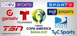 Official 2019 Copa America TV Rights: