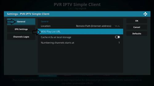 How To Add M3u/M3u8 IPTV Playlists On KODI