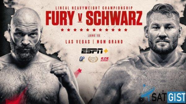 How To Watch Tyson Fury Vs Tom Schwarz From Anywhere