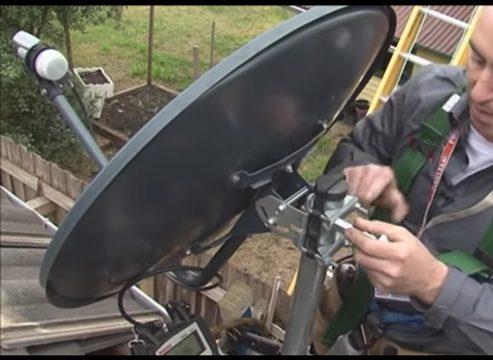 Adjust Or Re-align Satellite Dish