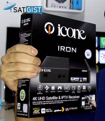 Icone Iron Plus 4K UHD Decoder