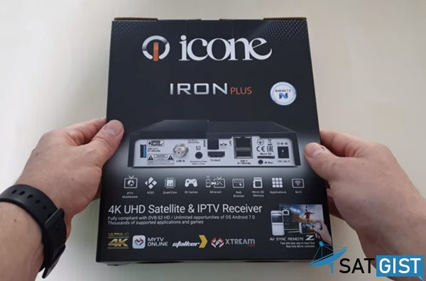 Icone Iron Plus 4K price