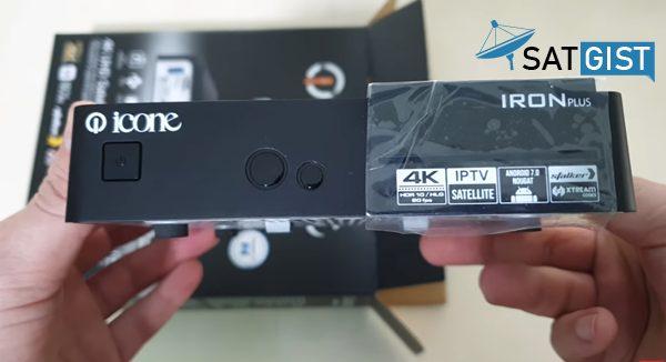 Icone Iron Plus 4K UHD Satellite And IPTV