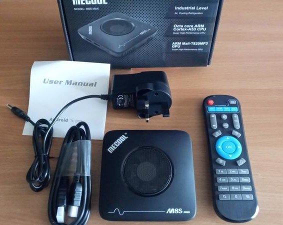 Mecool M8S TV Box 3GB/64GB ROM Support HEVC H.265