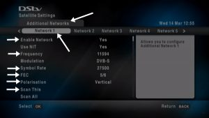 How To Scan Any Free To Air(FTA) Channels On DSTV Explorer Decoders