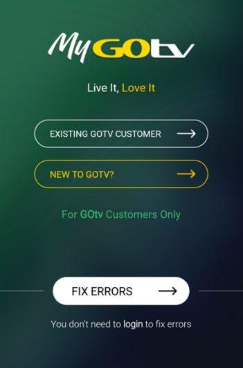 Steps By Steps Guide To Install The My GOtv Self-Service App