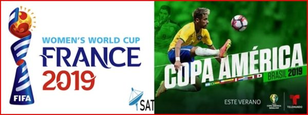 Watch Women's World Cup & Copa America 2019 Finals - SatGist com