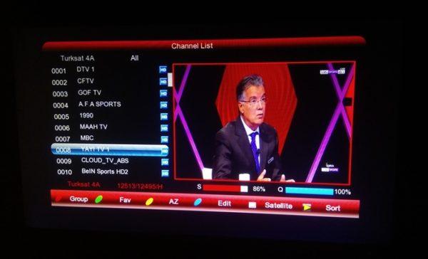Yayi TV1 And Yayi TV2 On Azerspace At 46E
