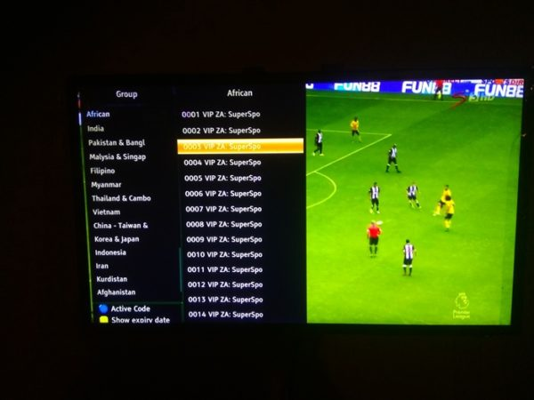 Dstv IPTV Account On Tiger M5 Super Decoder