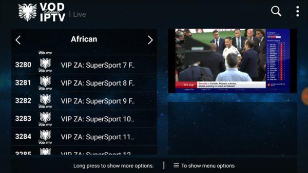 DSTV IPTV On Android TV Box