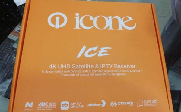 Icone Ice 4K UHD Hybrid Satellite And IPTV Decoder