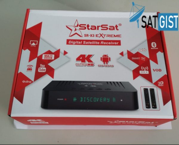 Starsat SR-X3 Extreme 4K Ultra Android And Satellite Receiver