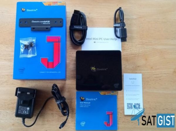 Beelink J45 Mini PC TV Box Full Specifications