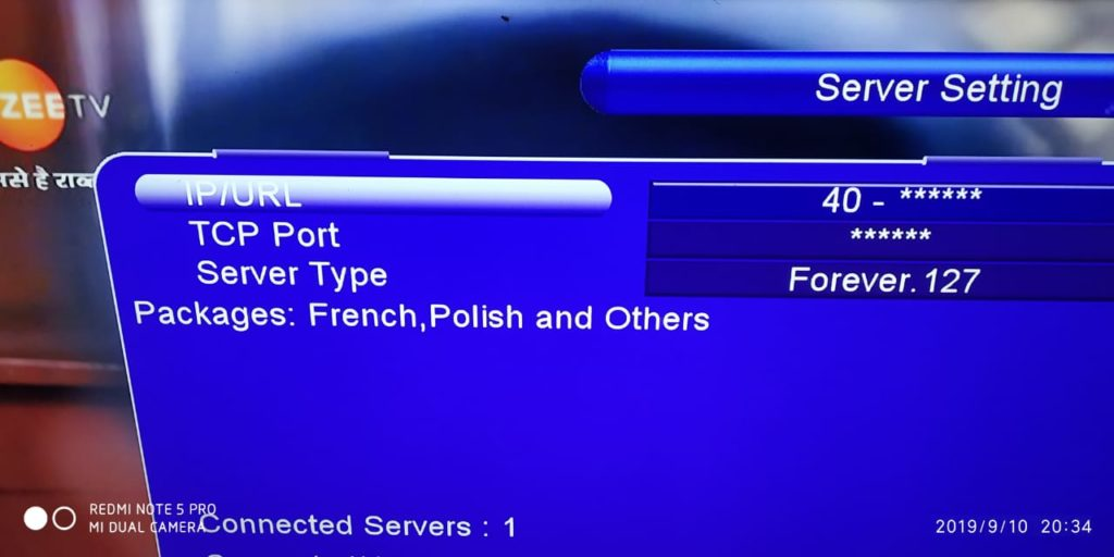 Forever Server Pro 127 For Tigerstar, Mediastar, Starsat And Icone Receivers