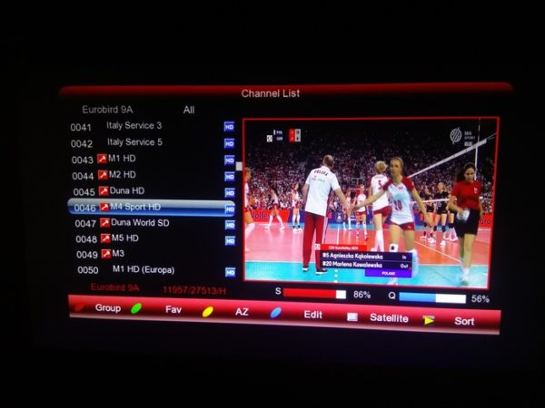 M4 Sport On Eutelsat 9A At 9E To Watch UEFA Champions Legaue
