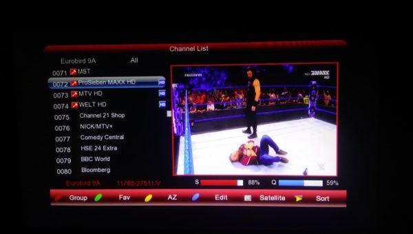 Maxx HD on Eutelsat 9A At 9E