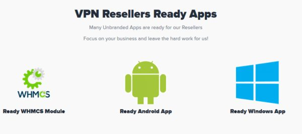 VPN Reseller Ready App