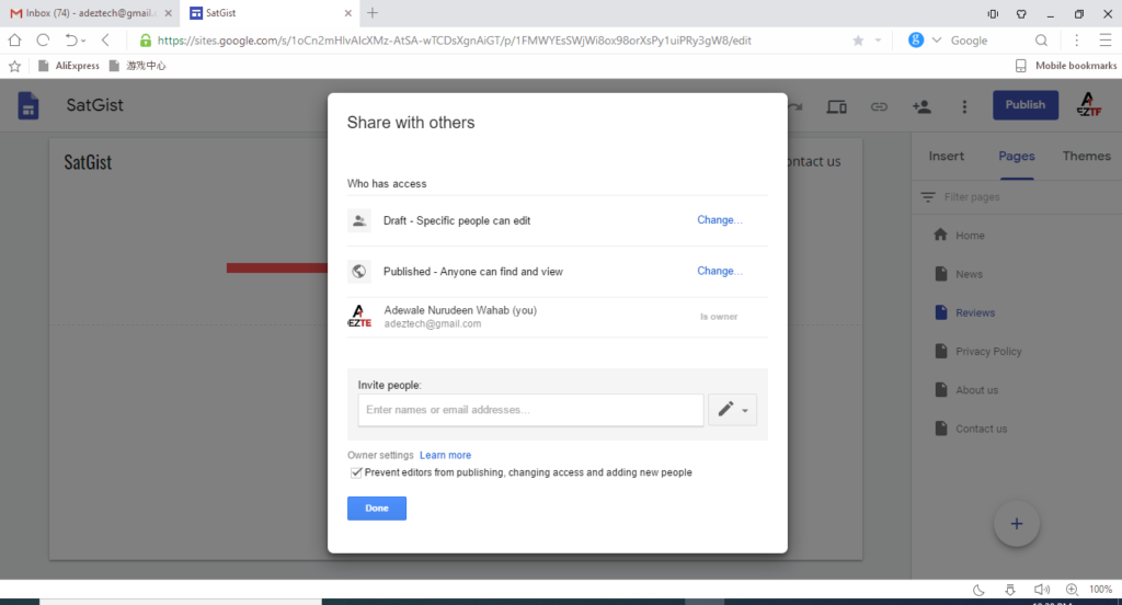 DIY Guides On How To Create A New sites With Free Google Sites Services