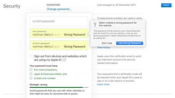Security For Apple ID