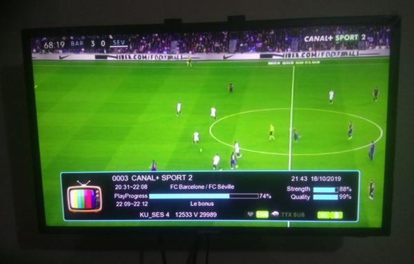 Canal+ Working On TCAM Account