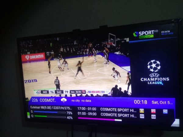 Cosmote Sport is back on Forever Server