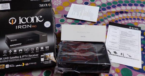Icone Iron Pro 4K UHD And 4k Satellite receiver