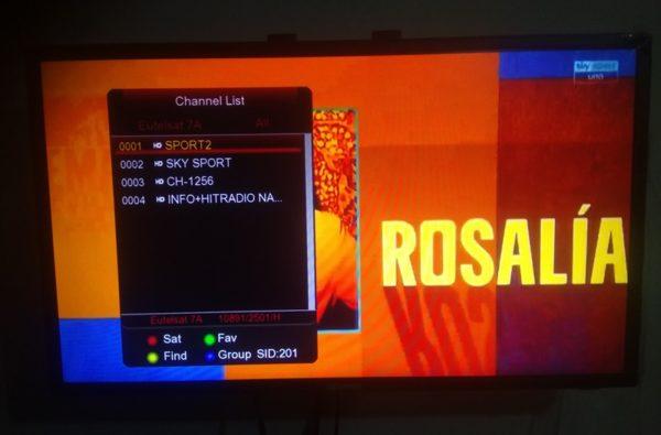 SkySport Italia And RMC Sport 1 FTA Sport On Eutelsat 3A