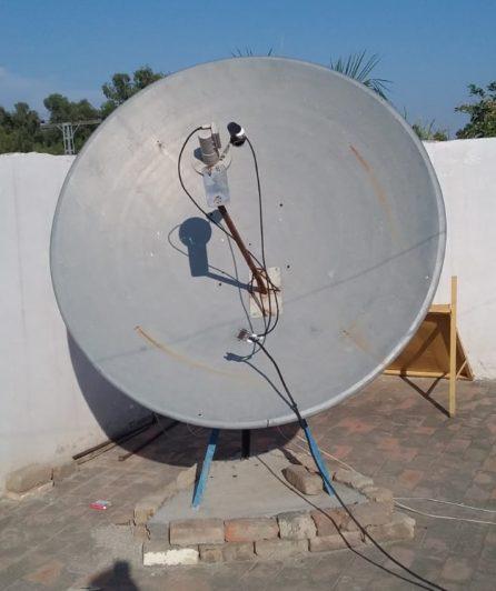 C-band Dish Installation