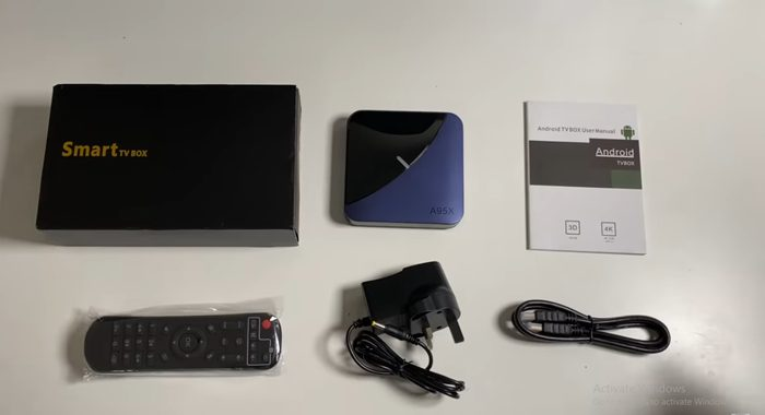 A95X F3 8K RGB Light Airplay Android 9.0 Smart TV Box