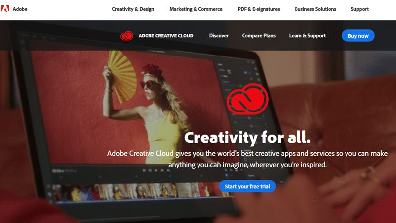 Adobe Website Builder