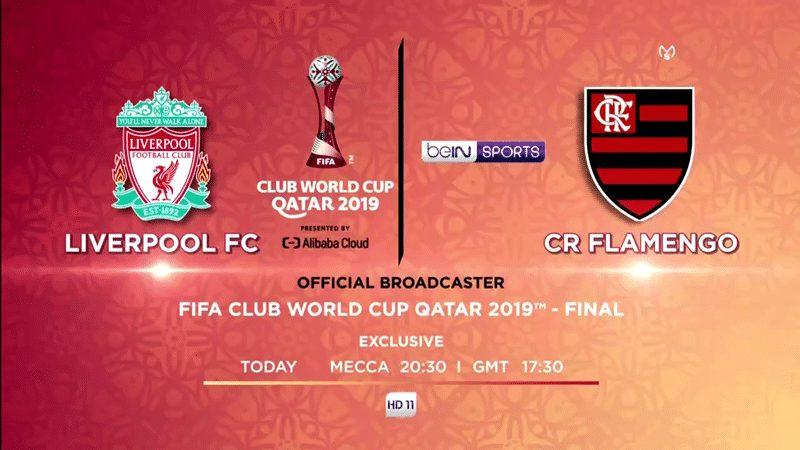 Flamengo VS Liverpool On FIFA World Club World Cup