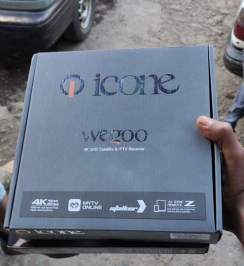 Icone Wegoo 4K Receiver