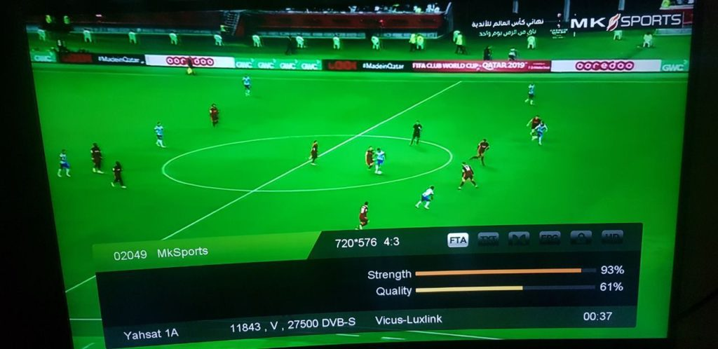 MKSport Showing FIFA World Club Cup