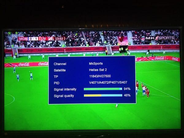 Varzesh TV, MKSports On Yahsat 1R At 52.5E