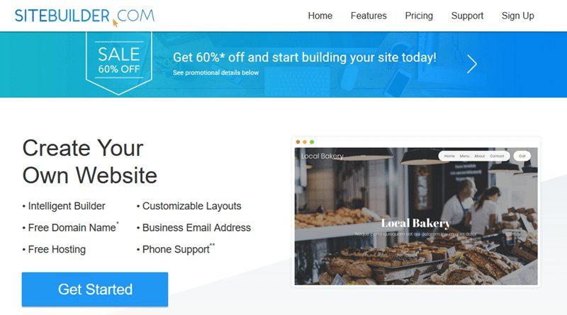 BEST WEBSITE BUILDER IN 2020