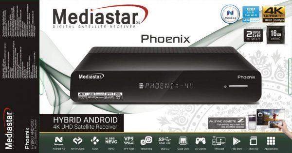 سوفتوير جهاز Mediastar Phoenix Hybrid