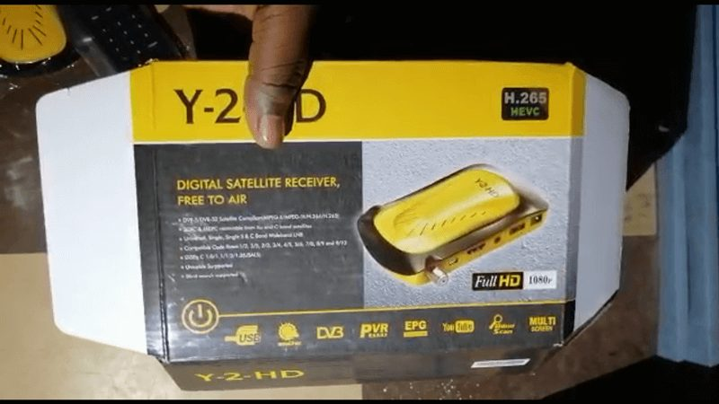 Yayi tv decoder and subscription