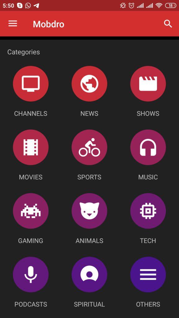 Free Live TV App